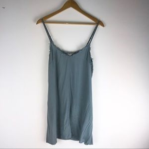 Free People One Blue Tank Slip On Dress
